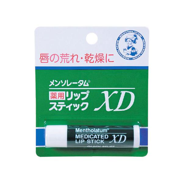 7. 曼秀雷敦藥用護唇膏XD 4g  120円(免稅)約HK$8.51